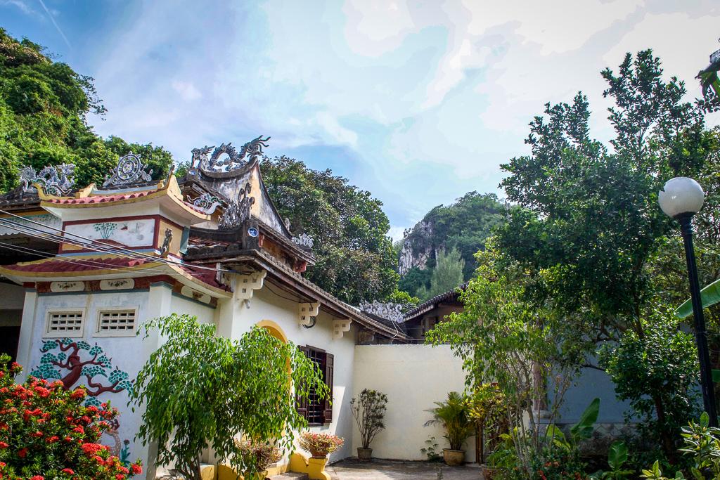 Da Nang's Marble Mountain on the Hai Van Pass