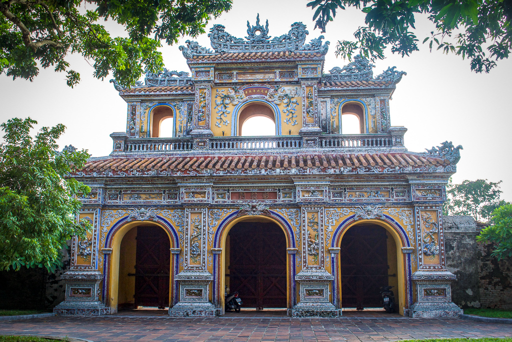 Gateway in Hue's Imperial City