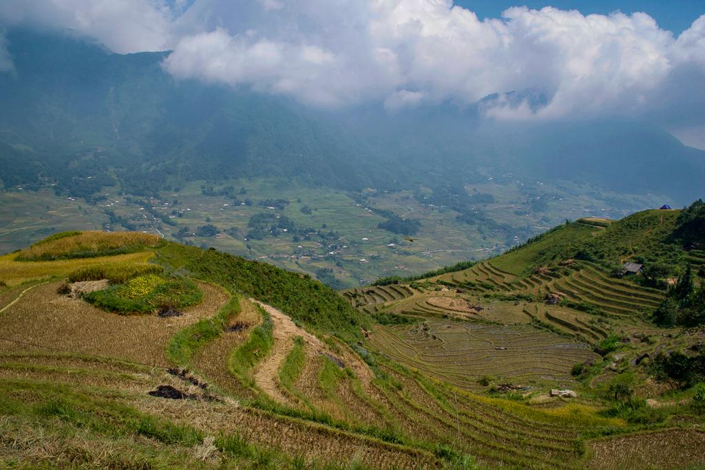 Hills and mountains of Sa Pa