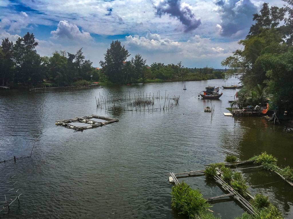 A river near Hoi An, Vietnam