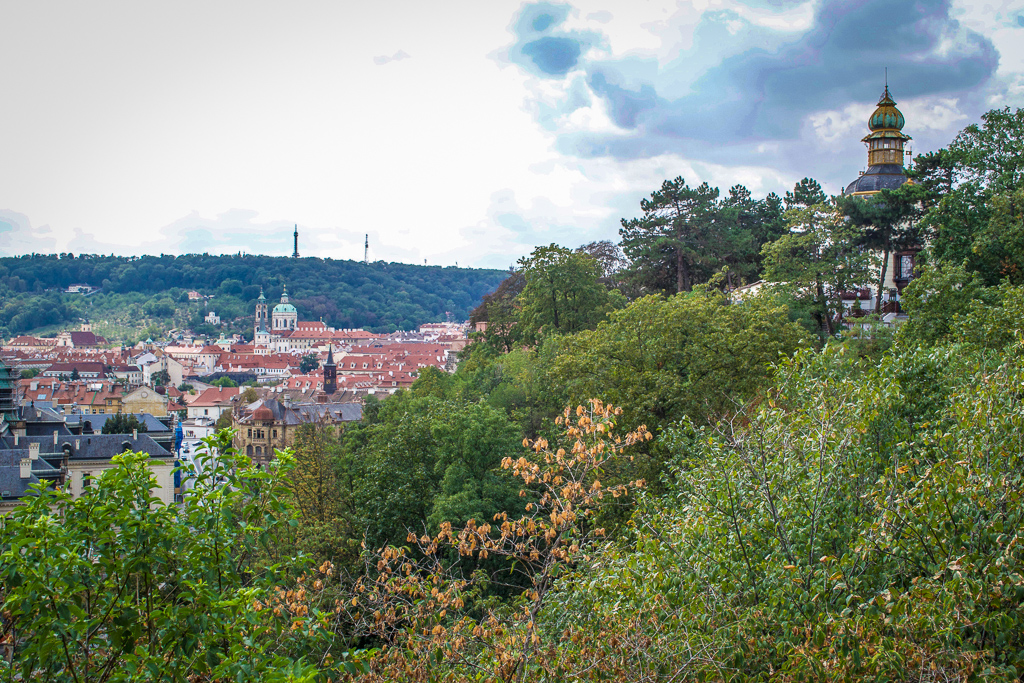 Hanavsky Pavillion in Letna Park on your 4 Day Prague itinerary