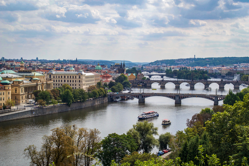 More great views of Prague from Letna Park