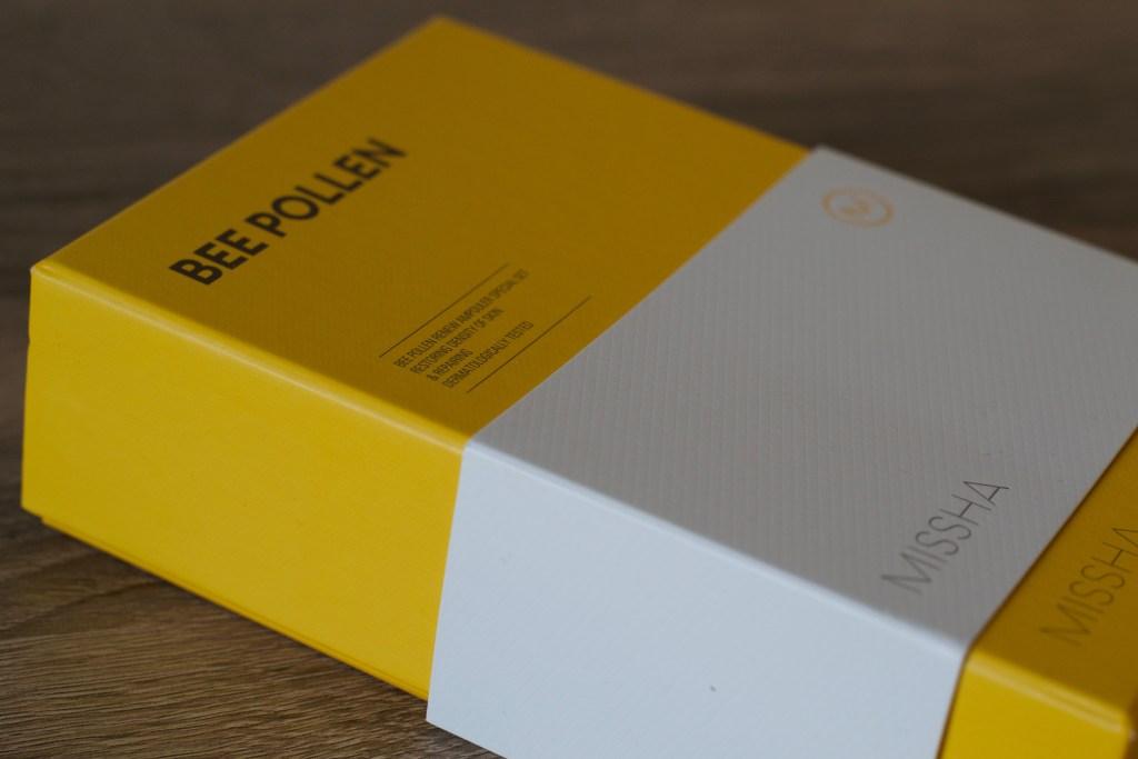Missha bee pollen renew set box