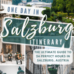 One day in Salzburg Pinterest Pin