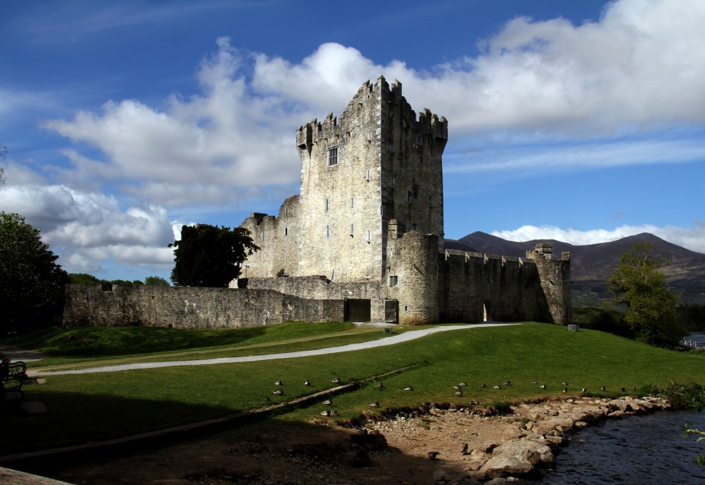 Ross Castle near Killarney National Park, Ireland