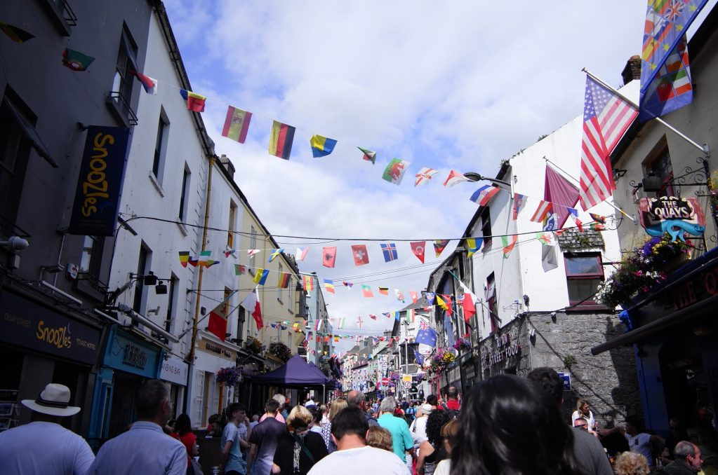 Galway Latin Quarter, Ireland