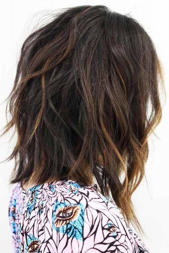 47 Sexy Shoulder Length Haircuts For A Stunning Look Glamivibe