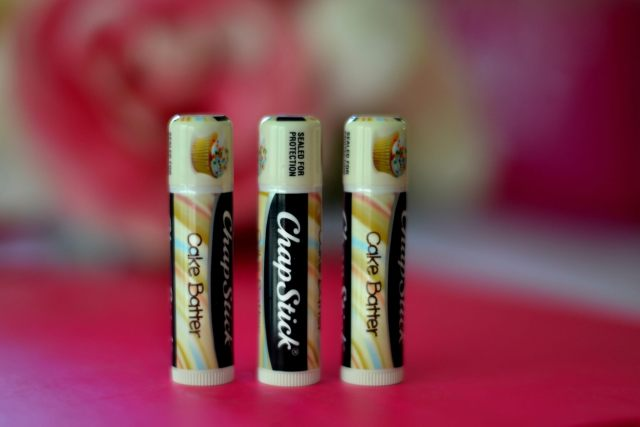 Cake Batter ChapStick (and other yummy flavors!)