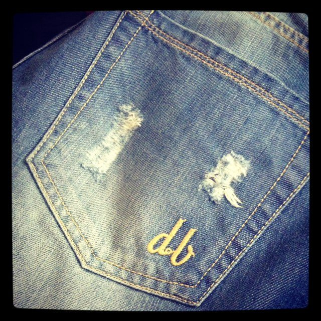 d.Brand boy friend jeans