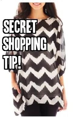 secret shopping tip