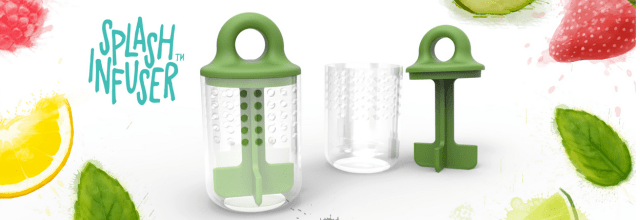 """How to REALLY make a SPLASH! Be a DIY Mixologist with this """"Splash Infuser""""... Hydrate the FUN way!!"""