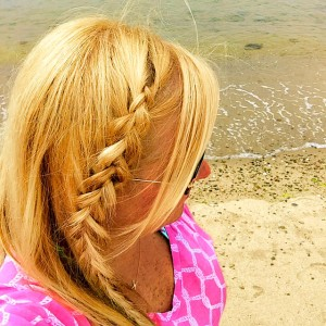 Beach Braid by GlamKaren.com - perfect fun & easy look!