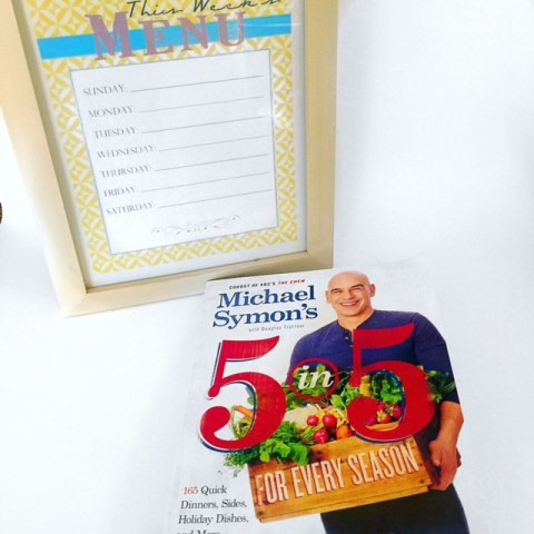 Michael Symon's 5 in 5 Cookbook - a MUST own! See why here... II GlamKaren.com