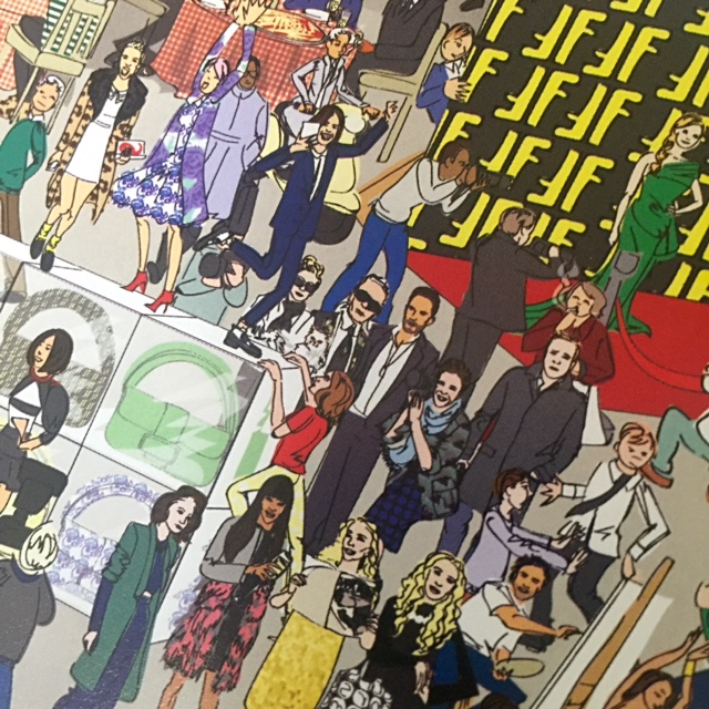 The Where's Waldo of Fashion! Where's Karl? This book is a must-have for any fashion lovers! GlamKaren.com