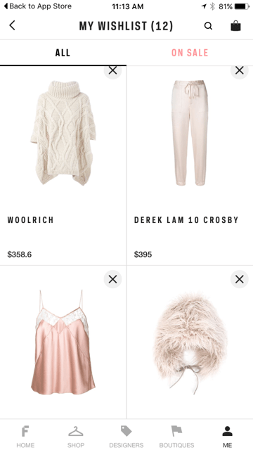 An app (that you need) that has swooned me with their fashion forward aesthetic!