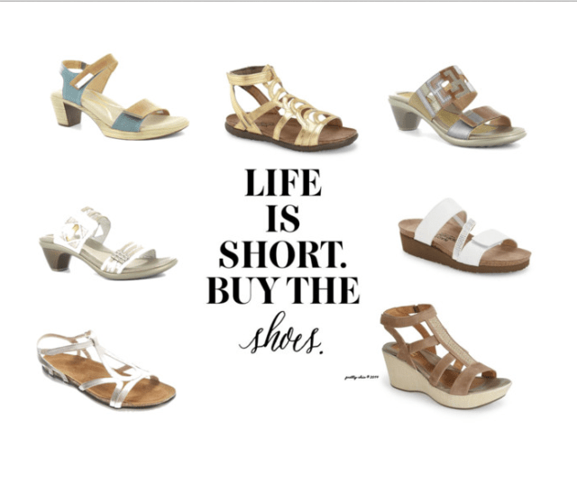"""he little voice in your head that says, """"Buy the Shoes""""... that's the one to listen to! 