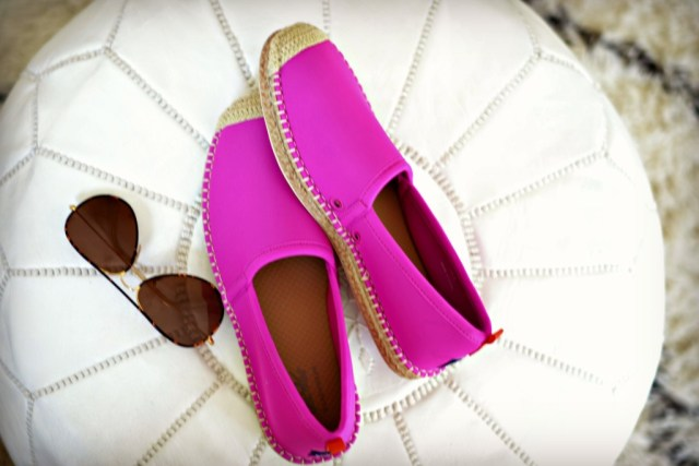 The beach shoe that you can wear into the water that's also chic enough to wear to lunch! GlamKaren.com