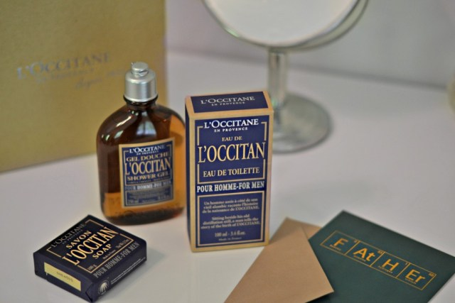 Men's skincare products, routines & packaging! Natural & styled for guys with L'OCCITANE | GlamKaren.com