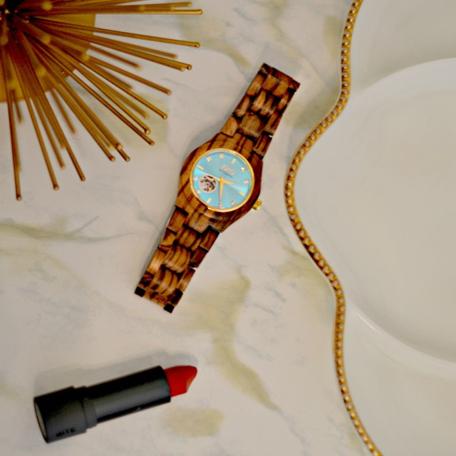 Unique Wood Watch & How to Style it | GlamKaren.com