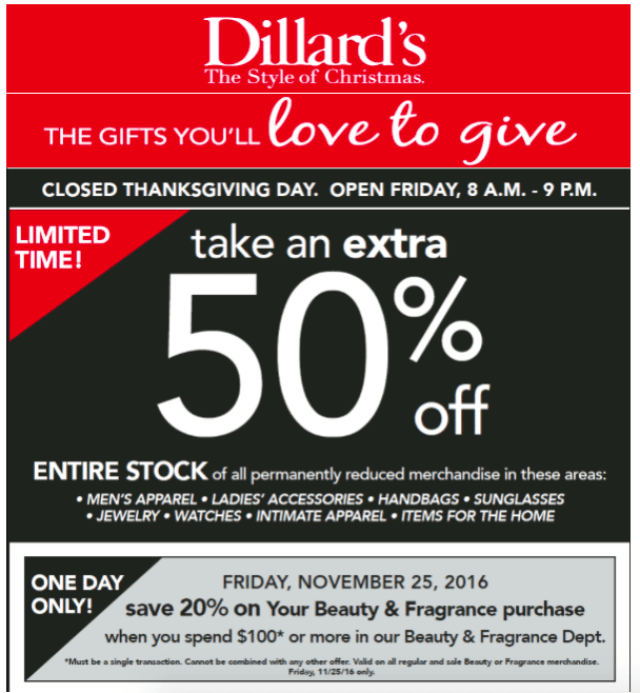 Black Friday Deals with Dillards | GlamKaren.com