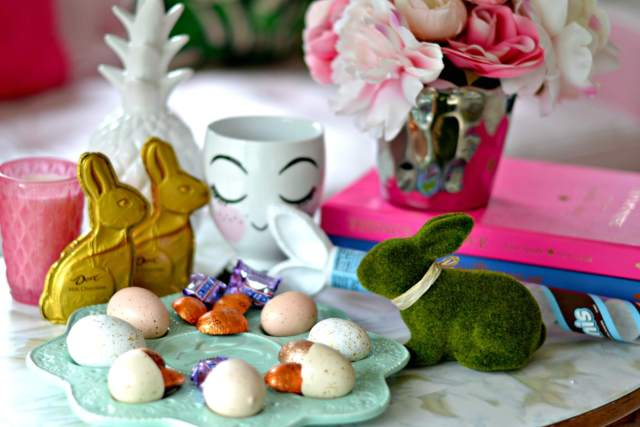 How to Make a CHIC Easter Basket | GlamKaren.com