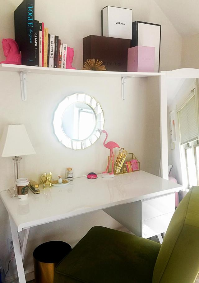 How to Create a Stylish and Inspiring Home Office | GlamKaren.com
