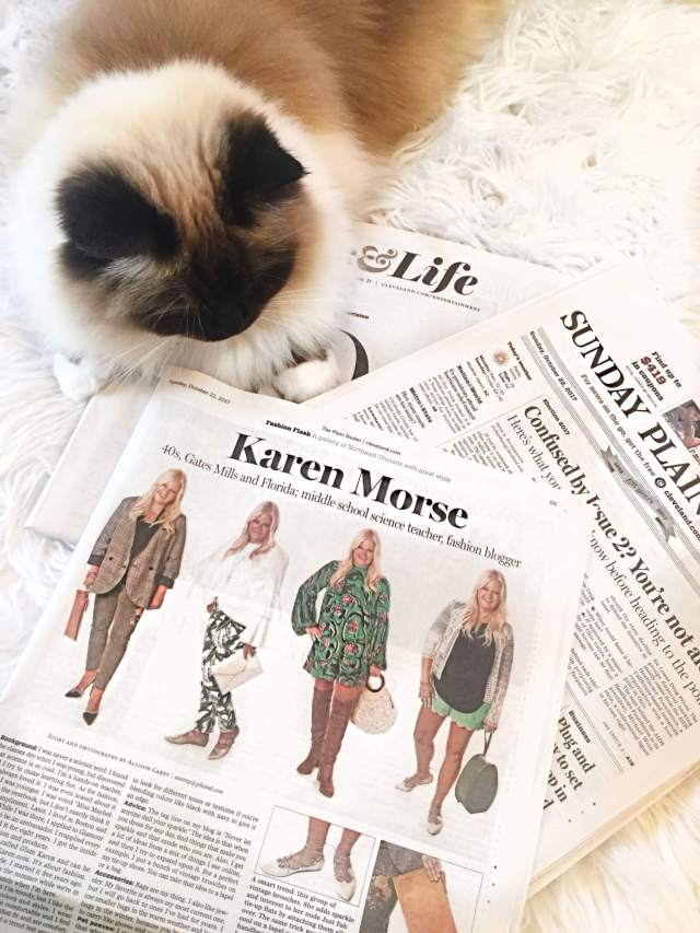 The Cleveland Plain Dealer's Fashion Flash Featuring Glam Karen