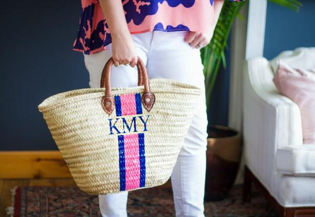 The Preppiest Straw Bags You've Ever Seen