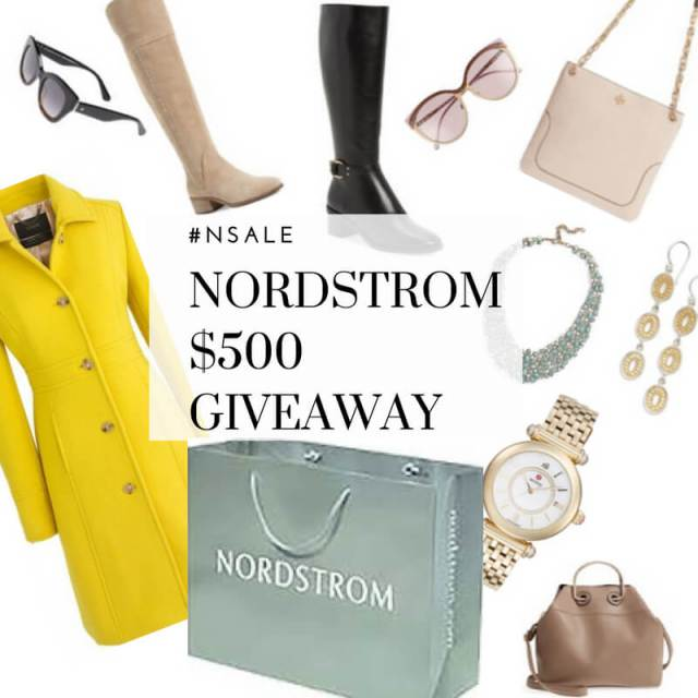 Nordstrom Anniversary Sale Picks + $500 Gift Card GIVEAWAY!