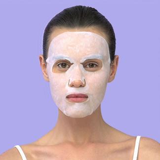 Skin Republic 2-Step Brightening Vitamin C Gesichtstuchmaske
