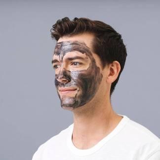 Skin Republic Facial Scrub+Charcoal Aktivkohle