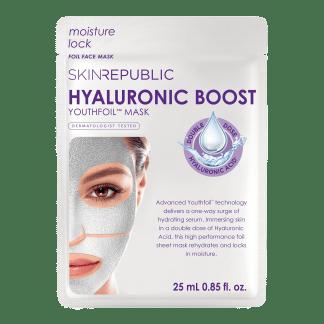 Skin Republic Hyaluronic Boost Youthfoil™ Tuchmaske