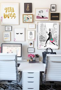 Best Home Office Ideas for Bloggers and girl bosses - Glam ...