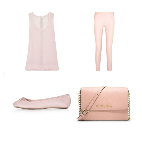 Pastel Pink Day look