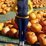 Yellow and Polka Dots – Pumpkin Picking Outfit