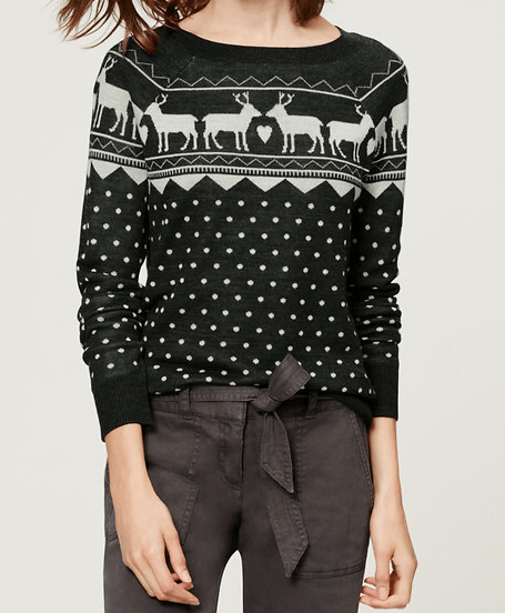 Reindeer Fairisle Sweater
