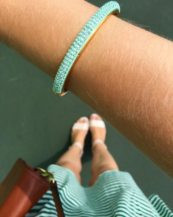 Mint Bracelet from J.Crew