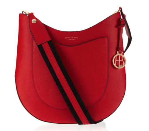 West 57th Crossbody Hobo in red