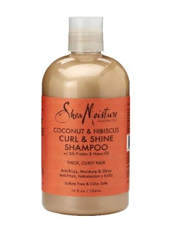 SheaMoisture Coconut & Hibiscus Shampoo- 13oz