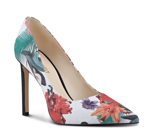 Nine West Tatiana Floral Canvas Pumps