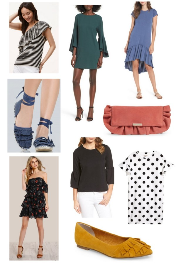 Ruffles - Summer Trend 2017 Fashion Board