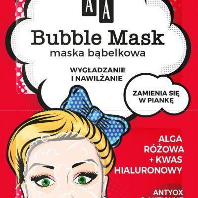 pink bubble mask