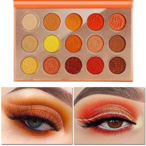 Tiffany's Hot Mess 15 Piece Eyeshadow Palette 4