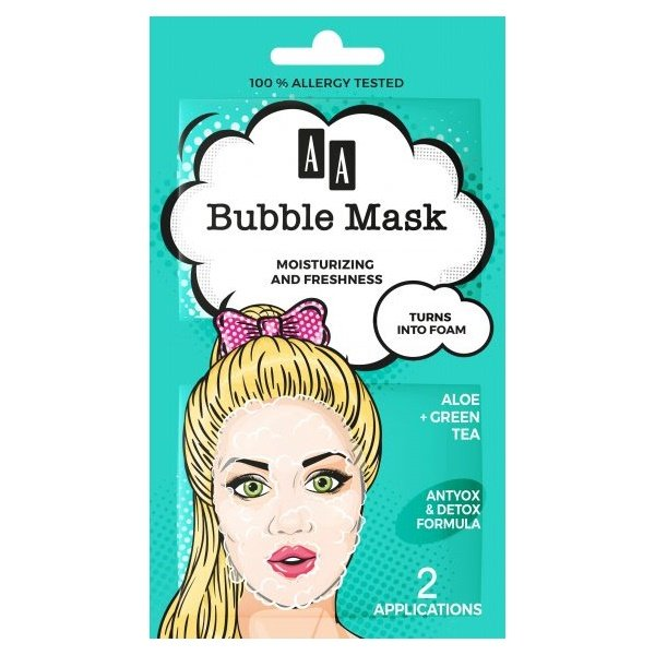 Moisturising + Freshness Bubble Mask 1
