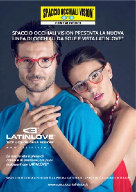 Laura e Francesco, modelli dell'agenzia Glamour per Occhiali Vision