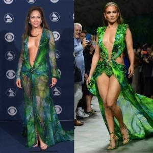 Jungle dress Versace, estate strana