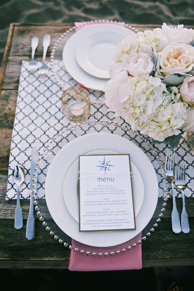 Romantic Nautical Wedding Inspiration Glamour Amp Grace