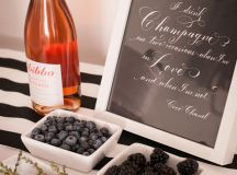 Blackberry Bridal Shower | Glamour & Grace