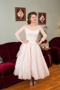 1950's Vintage Wedding Dresses | Glamour & Grace