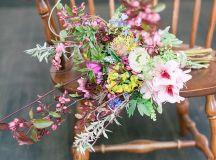 Romantic Mountain Wedding Inspiration | Glamour & Grace